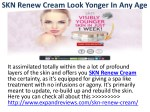 SKN Renew Cream Look Yonger In Any Age