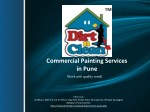 Commercial Painting Services in Pune - Dirt n Clean