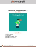 Magento 2 WhatsApp Contact