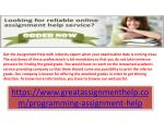 Be stress free to prepare fact filled assignment with online assignment help