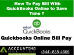 How To Pay Bill With QuickBooks Online to Save Time ?