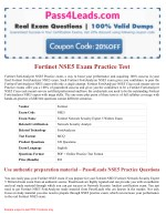 NSE5 Exam Practice Test Online - 2018 Updated with 30% Discounted Price