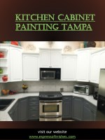 Kitchen Cabinet Painting Tampa-converted