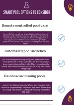 Smart Pool Options to Consider