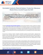 Stretchable Conductive Material Industry Trends, Key Takeaways, Market Driver, Growth Prospect By 2025