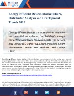 Energy Efficient Devices Market Report - Industry Outlook - Latest Development and Trends 2025