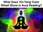 What Does Yin-Yang Color Wheel Show in Aura Reading?