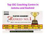 Best SSC Coaching Centre in Jammu Kashmir