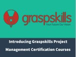 GRASPSKILLS- Project Management Courses