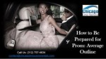 How to be prepared for prom average outline by car service chicago