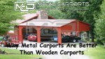 Metal Carports Direct: Why Metal Carports Are Better Than Wooden Carports