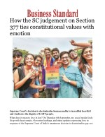 How the SC judgement on Section 377 ties constitutional values with emotion