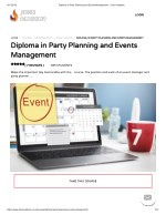 Diploma in Party Planning and Events Management - John Academy