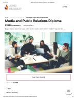 Media and Public Relations Diploma - John Academy
