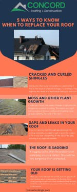 5 ways to know when to Replace your Roof