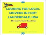 Best Local Movers in Fort lauderdale, USA