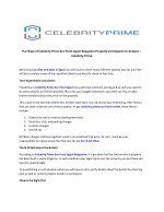 Purchase of Celebrity Prime Eco Front Jigani Bangalore Property and Aspects to Analyze – Celebrity Prime