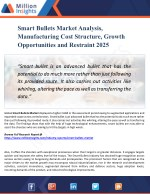 Smart Bullets Market Analysis, Share and Size, Trends, Industry Growth And Segment Forecasts To 2025