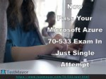 Microsoft Azure Infrastructure Solutions 70-533 Practice Test Questions Answers