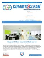 Office cleaning carlton