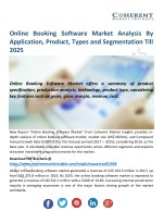Online Booking Software Market Segmentation, Application, Technology & Analysis Report