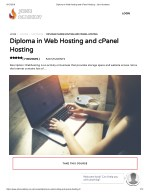 Diploma in Web Hosting and cPanel Hosting - john Academy