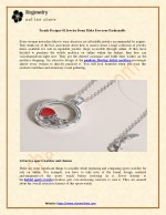 Trendy Designs Of Jewelry Items Make Everyone Fashionable