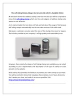 Buy Self-inking Stamps Online