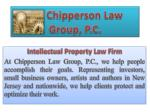 Intellectual Law Firm and Its Importance