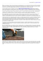 Roofing Services London