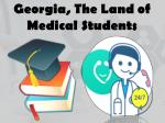 Georgia, a Land of Medical Students