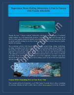 Book a Subwing for an Ultimate Fun in Cancun