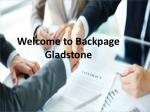 Backpage Gladstone best Ad Posting website.