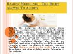 Ramdev Medicines – The Right Answer To Acidity