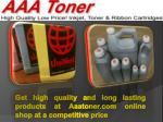 Get high quality and long lasting products at Aaatoner.com online shop at a competitive price