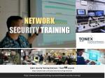 Network Security Training : Tonex Training