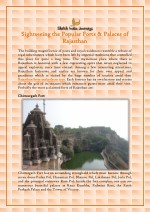 Sightseeing the Popular Forts & Palaces of Rajasthan