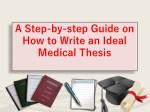 Medical Thesis Writing - Beginner Guide