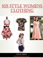 50s Style Womens Clothing | 2036378223 | weekenddoll.co.uk