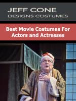 Best Movie Costumes For Actors and Actresses