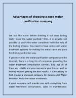 Water Dispenser - Commercial Drinking Water