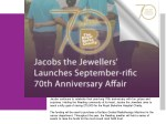 Jacobs the Jewellers' Launches September-rific 70th Anniversary Affair