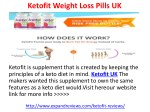 Ketofit UK Reviews Weight Loss Pills Where to Buy ?