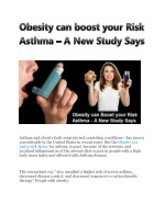 Obesity can boost your risk asthma - a new study says