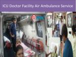 Hi-Tech Medical Air Ambulance Services in Delhi-Medivic Aviation