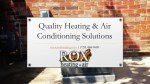 Quality Heating & Air Conditioning Solutions