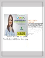 Contact at 1-888-221-4022 to Troubleshoot QuickBooks Error 6123