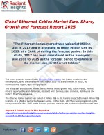 Global Ethernet Cables Market Size, Share, Growth and Forecast Report 2025
