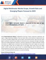Digital Multimeter Market Scope, Growth Rate and Emerging Players Forecast to 2025