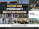 Electric Grid Cybersecurity Master Certification : Tonex Training